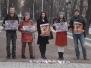 Акция протеста против убийств собак в Азербайджане - 16.03.2015