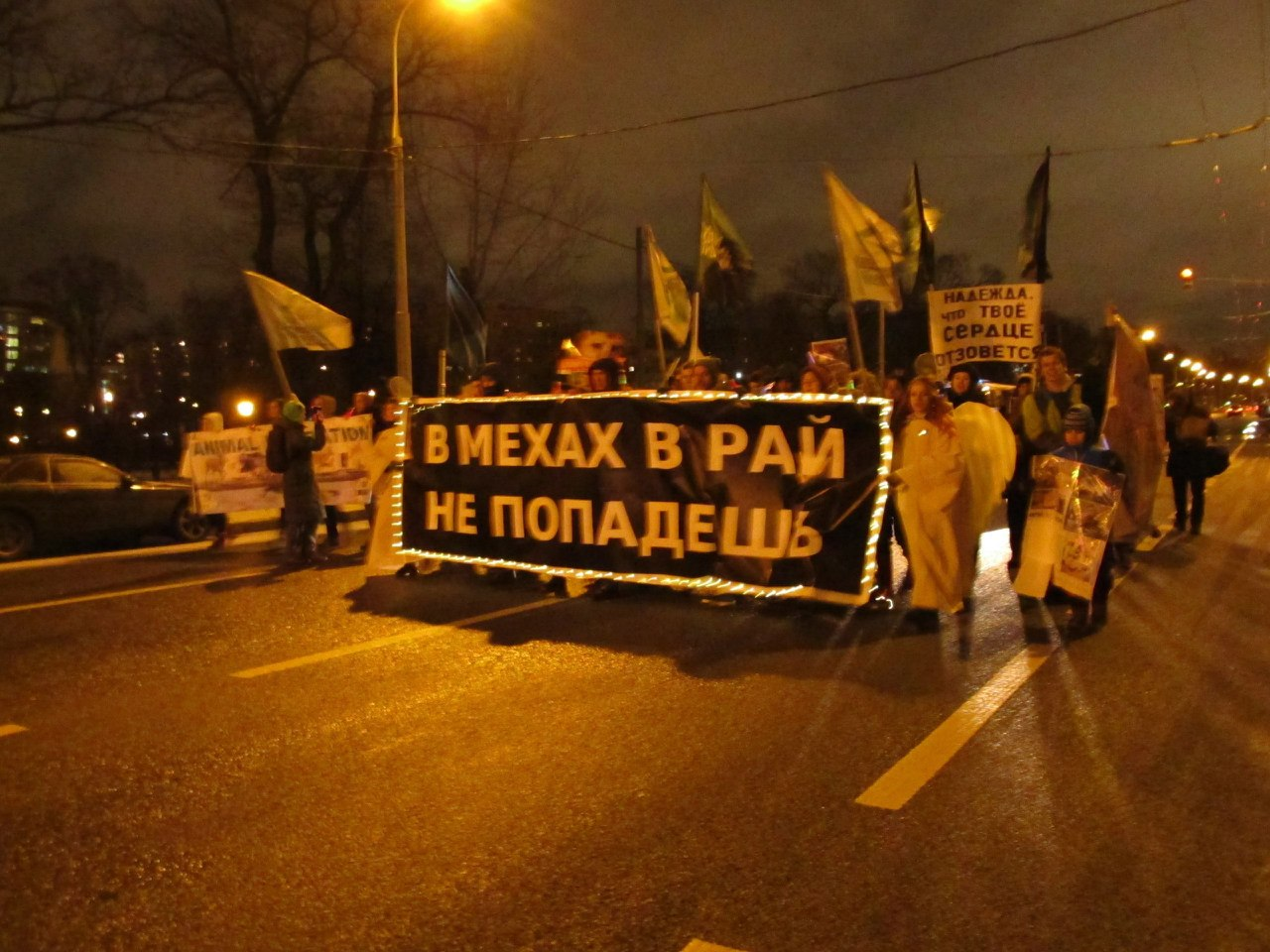 Антимеховой Марш в Москве – 29.11.2013