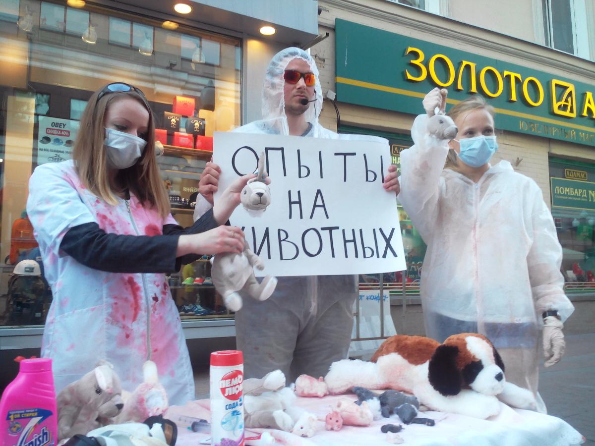 Акции против опытов на животных – 11-13.07.2014
