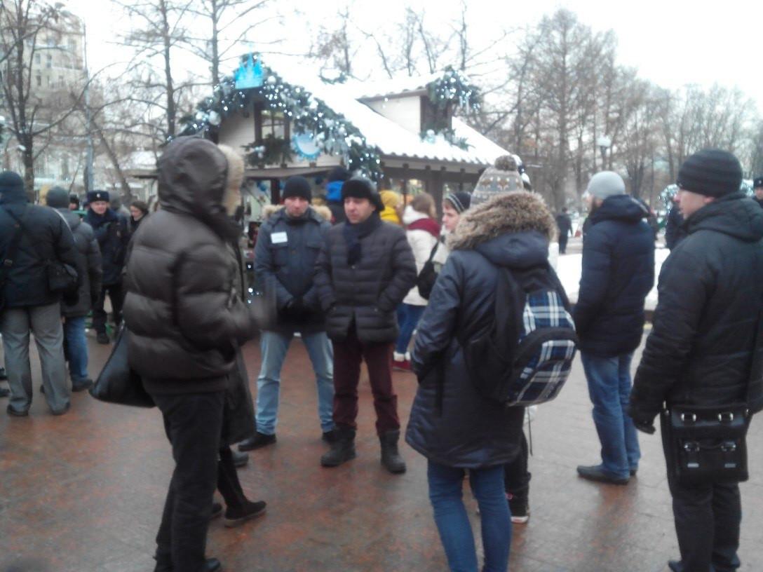 Народный сход в защиту животных на Тверском бульваре – 28.12.2014