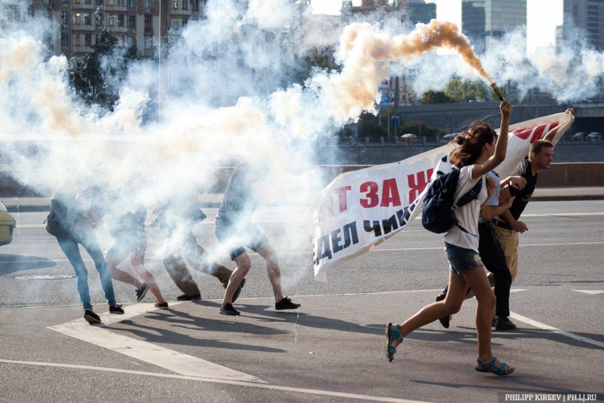 Акция солидарности с SOCPA7 и Blackmail3 – 21.08.2014