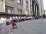 Флэшмоб у Госдумы за принятие закона - 28.06.2017