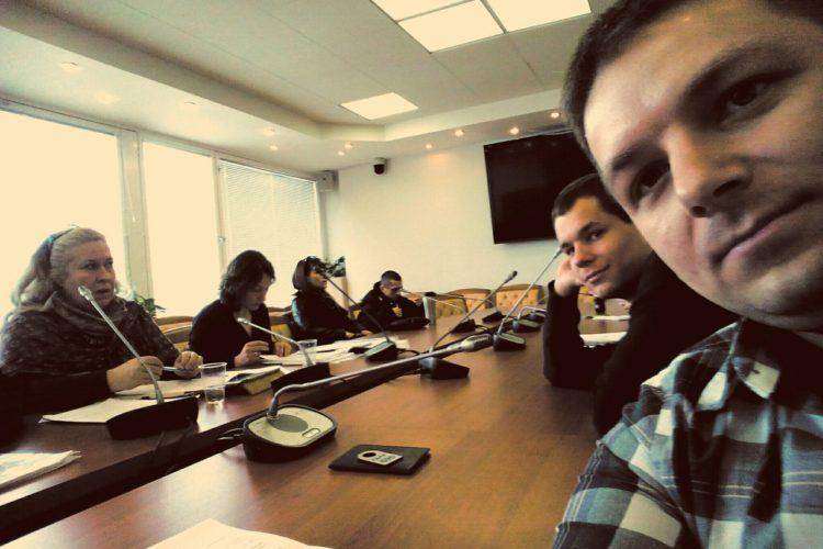 Третья рабочая встреча с Владимиром Пановым