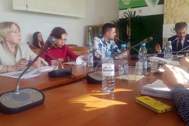 Четвертая встреча инициативной группы зоозащитников с Владимиром Пановым
