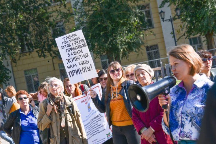Митинг в Астрахани — 15.10.2019