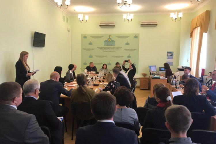 Заседание комитета экологии Верховной Рады Украины — 09.10.2019