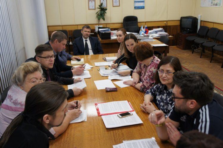 Встреча с представителями администрации Северодвинска — 19.10.2018